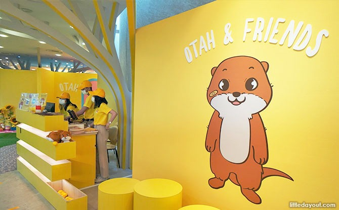 Play Hide & Seek With Otah The Otter And Friends At Gardens By The Bay