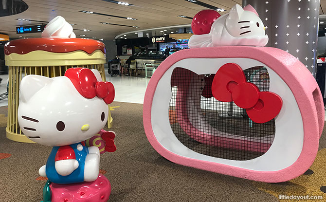 Sanrio-Themed Playground And Slides At Changi Airport Are Reopening
