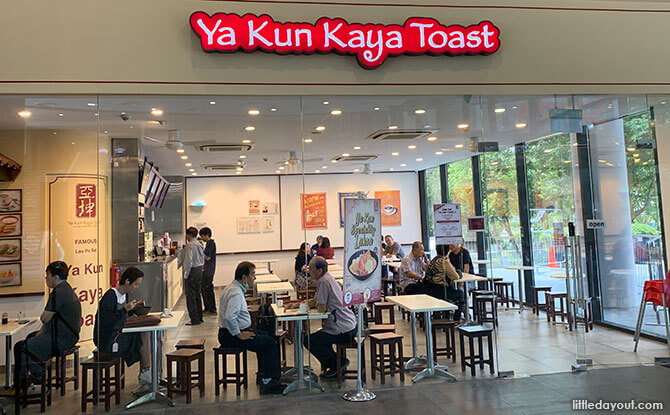 Ya Kun outlet at SAFRA Toa Payoh