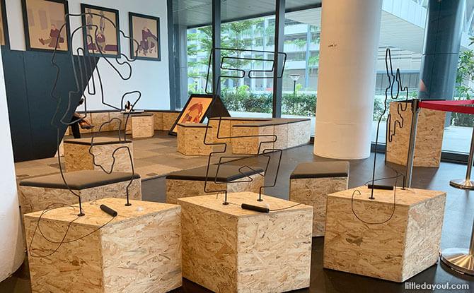 Exhibition space at PLQ