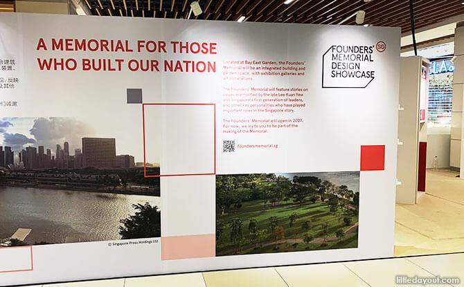 Founders' Memorial Design Showcase Locations