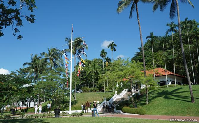 Raffles Garden, Fort Canning Park