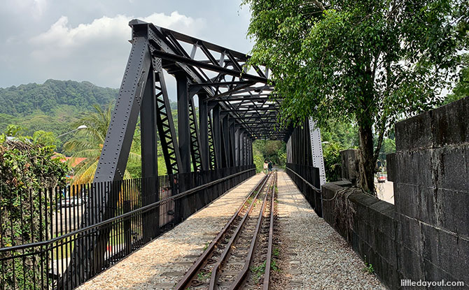 Visiting The Upper Bukit Timah Truss Bridge: Singapore's Only Pratt Truss Bridge