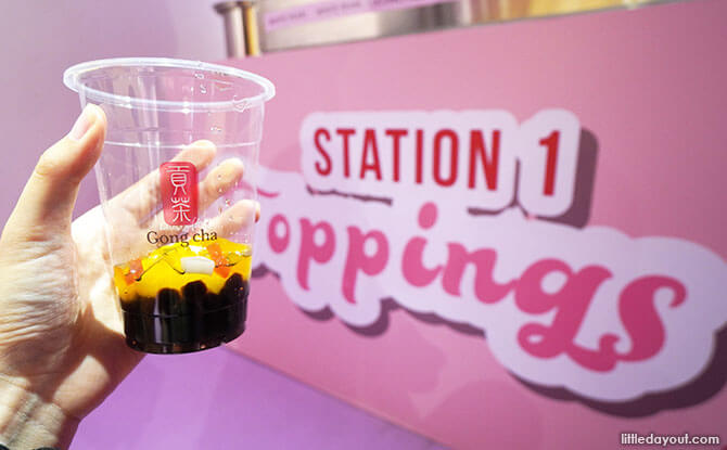 Bubble Tea Factory Has A New Diy Station Where You Can Make
