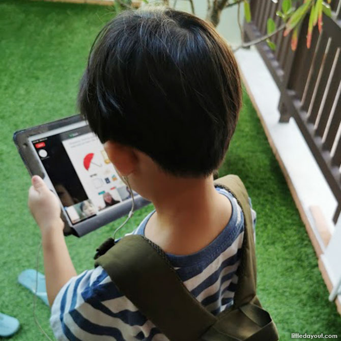 Learning of Life Skills during Little Day Out's Virtual Camp