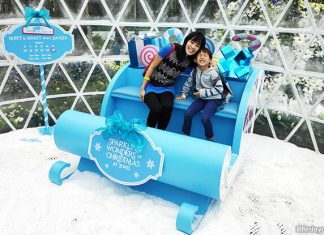 Celebrate The Sparkling Wonders Of Christmas At Jewel With Snow Fall & Magical Spots