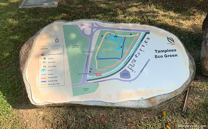 Layout of Tampines Eco Green