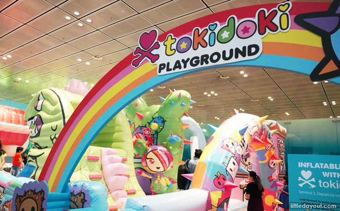 tokidoki Inflatable Playground