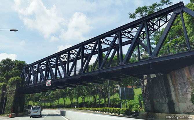 History of the Upper Bukit Timah Truss Bridge