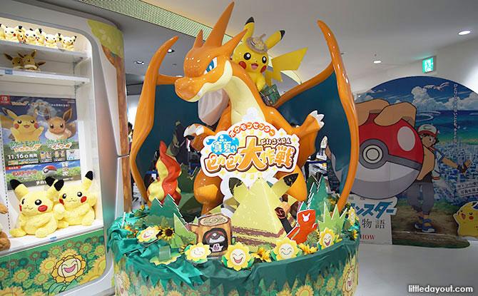 Pokemon Center Mega At Sunshine City, Tokyo