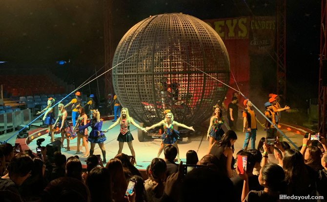 The Great Circus Of Europe And Uncle Ringo Carnival: Bayfront Escapades