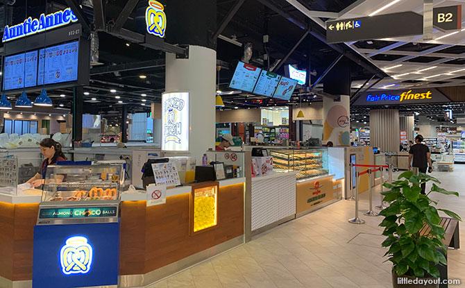 Basement 2 of Paya Lebar Quarter Mall