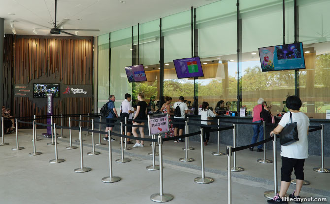 Ticketing Counters at Bayfront Plaza