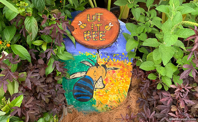 3 Days 2 Nights Only: Bee Hotels At Community Garden Festival 2019