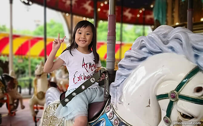 Rides at Everland for Younger Children