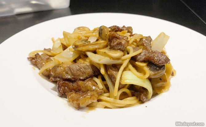 Dawn's Gelataria Beef Regitoni