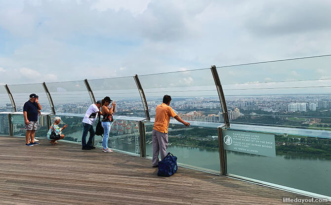 View from the Marina Bay Sands SkyPark - Singaporeans To Receive $100 Worth of SingapoRediscovers Vouchers To Spend From December 2020 To June 2020