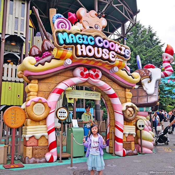 Attractions at Magic Land