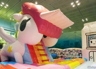 The Colourful World Of Tokidoki At Changi Airport: Massive Unicorno Slide And March 2019 School Holiday Meet-and-Greets