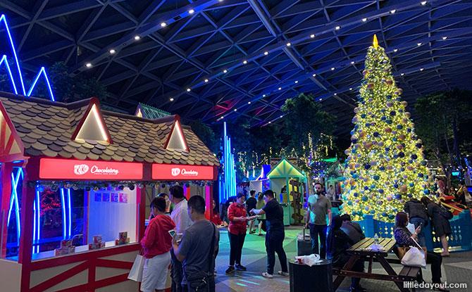 Festive Market - Jewel Changi Airport