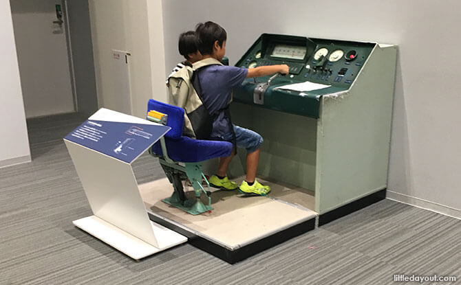 Interactive activities at the Kyoto Railway Museum