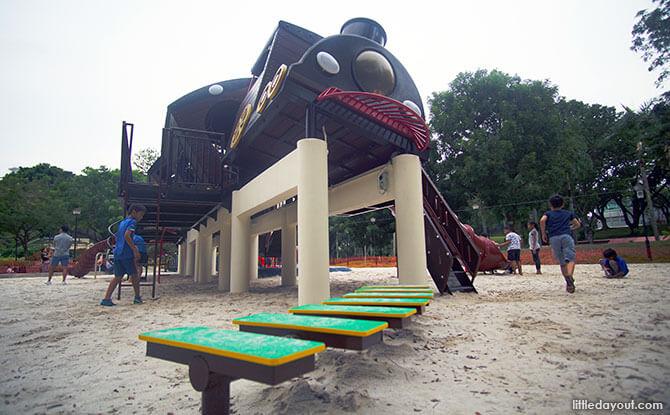 Tiong Bahru Park Train