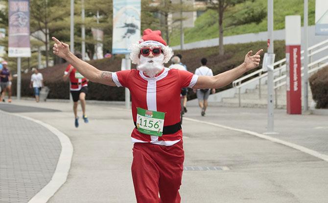 Santa Run For Wishes 2020: Help Make-A-Wish Singapore Bring Santa Back From The North Pole