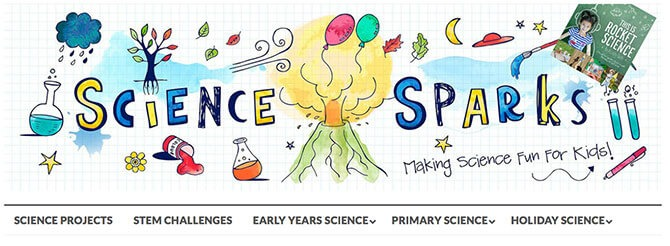 Science Sparks - Useful Stay at Home Learning activities for kids