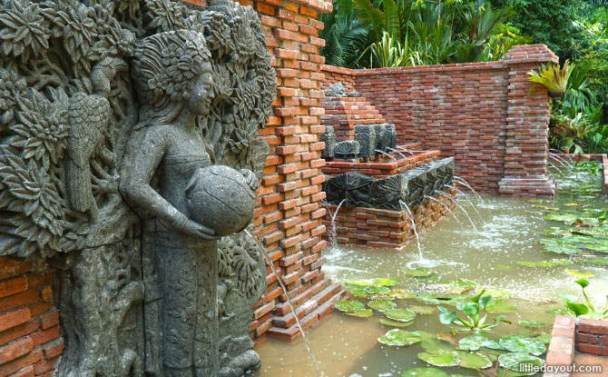 Pancur Larangan (Forbidden Spring) - Gardens at Fort Canning Park