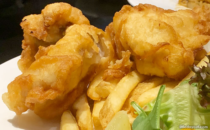 Dawn's Gelataria Fish and Chips