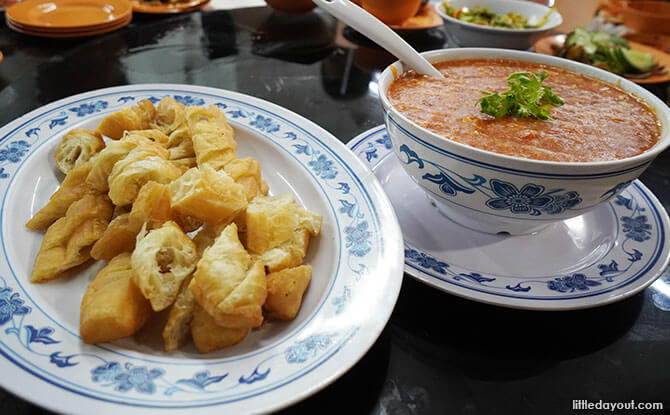 Chilli Crab Sauce With Youtiao