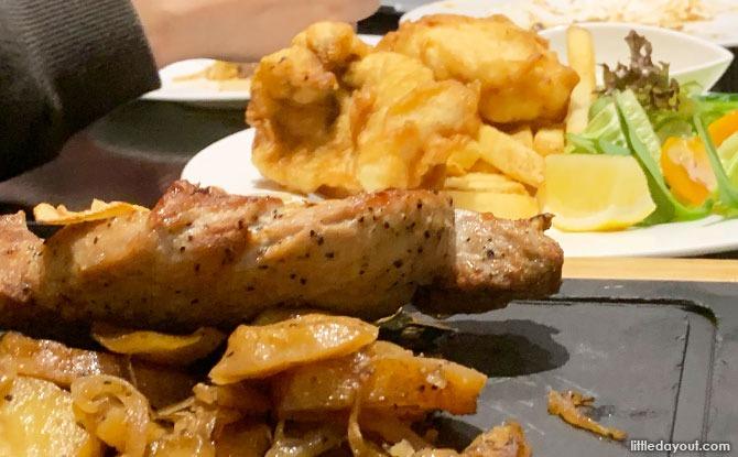 Dawn's Gelataria Hot Foods