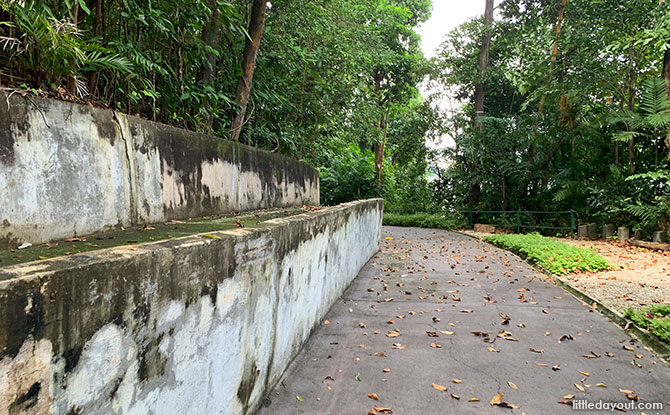 Remnants of old Sentosa