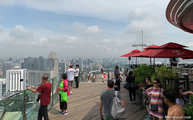 Level 57 Viewing Deck