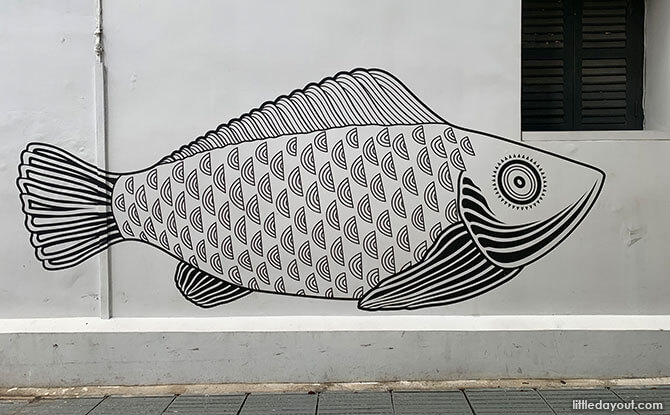 Go on a Mural Hunt at Telok Ayer District