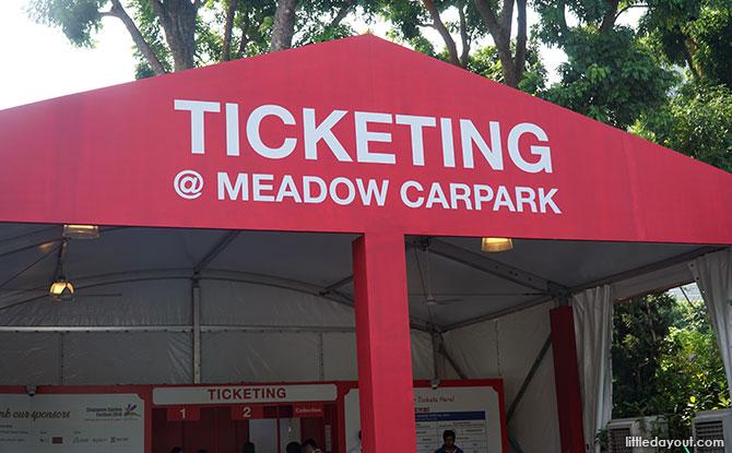 Tickets to Singapore Garden Festival 2018
