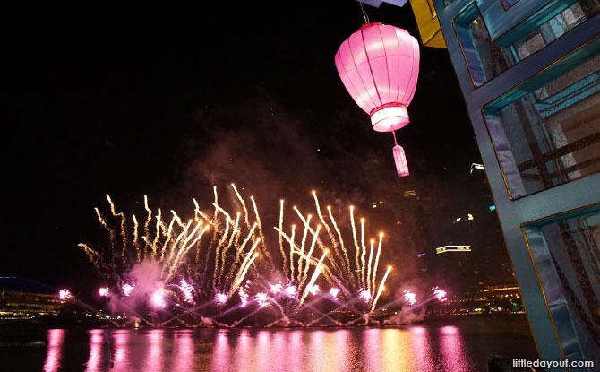 River Hongbao Fireworks