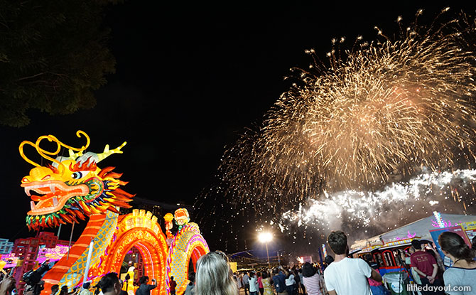 Fireworks at River Hongbao 2019 Bicentennial Edition