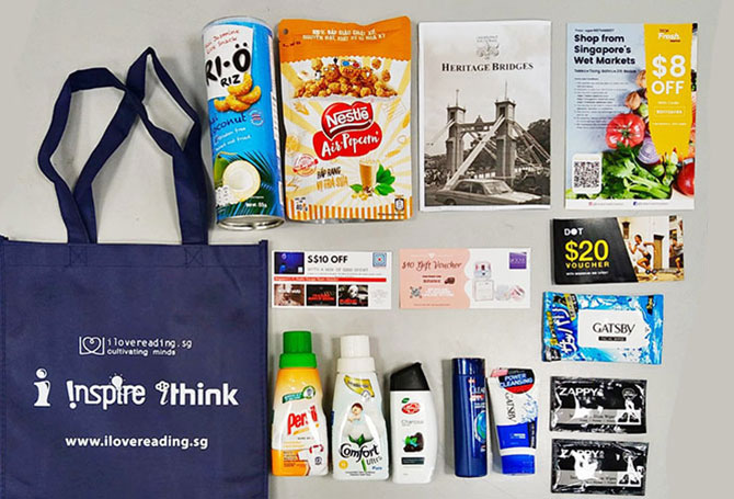 Be @ SAFRA: Goodie Bag, Giveaways & Special Deals