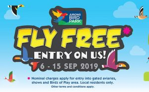 Fly Free: Jurong Bird Park Free Entry For Local Residents From 6 To 15 September 2019