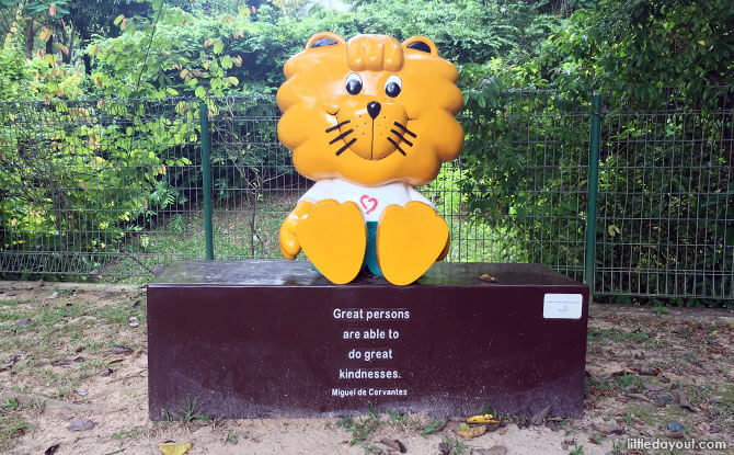 Hort Park Singa Statue