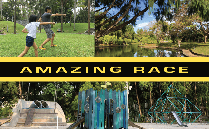 Little Day Outing to Bishan-AMK Park: Amazing Race with Zhou's Academic Studio