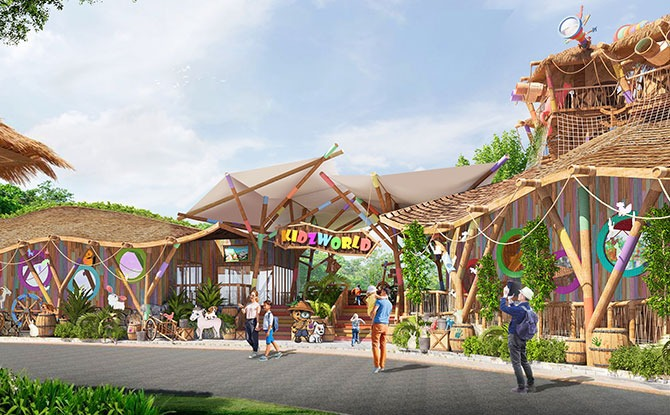 Revamped Rainforest KidzWorld