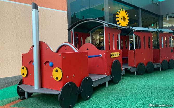 Great World Playground Train