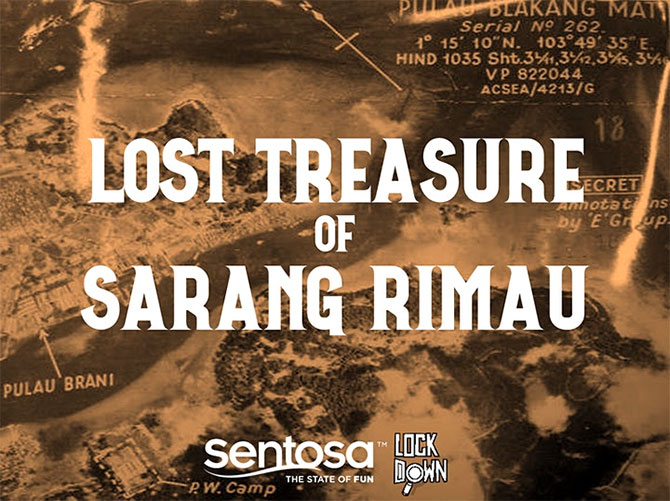 Virtual Lost Treasure Escape Game