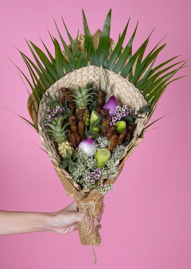 Satay bouquet