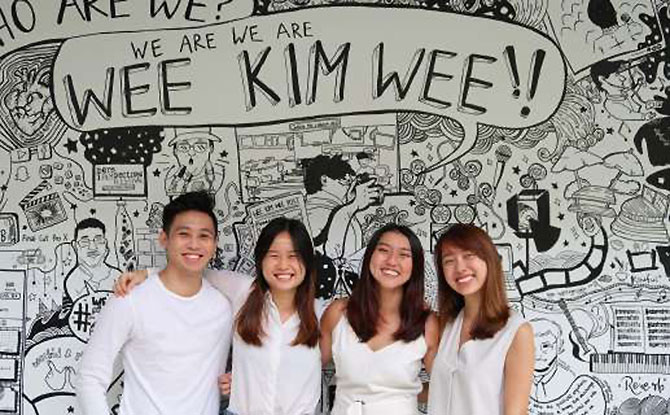 From left to right: Ignatius Lee, Penelope Ngui, Elin Wan, Charmaine Wee. Image: SuperVision
