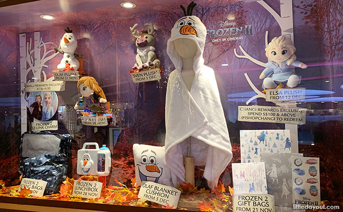 How to Redeem the A Frozen Wonderland at Changi Premiums