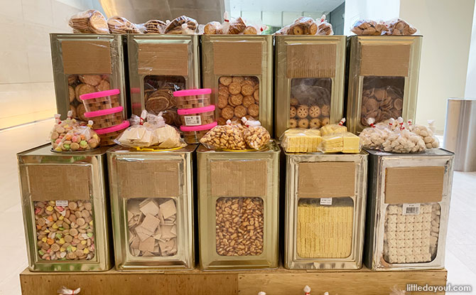 Snacks on sale at the NMS Mama Shop