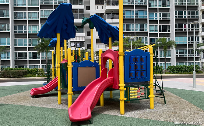 Parc Lumiere Playground: Rooftop Play Spot At Simei Lane